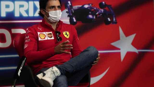 Carlos Sainz, en el GP de Turquía