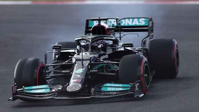 Hamilton, en el GP de Turquía