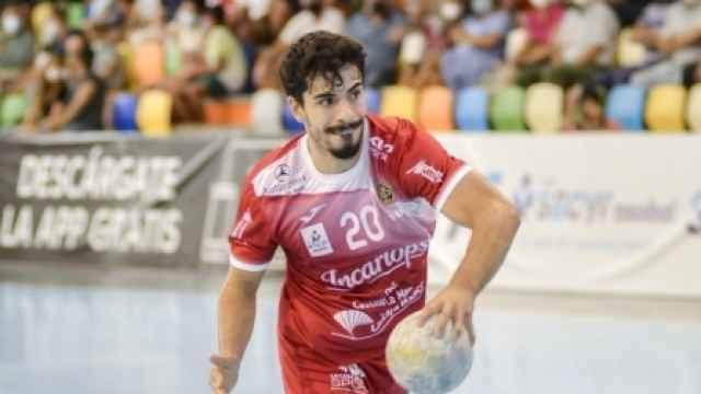 Nacho Moya, jugador del Incarlopsa Cuenca. Foto: bmciudadencantada.es