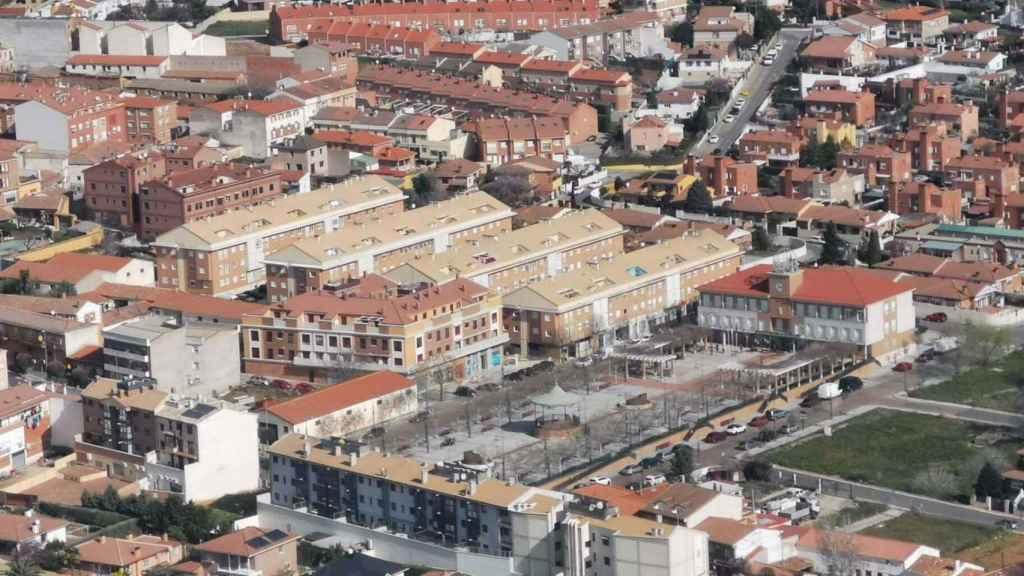 Una panorámica de Cabanillas del Campo, el pueblo más rico de Castilla-La Mancha. Foto: Ayto.