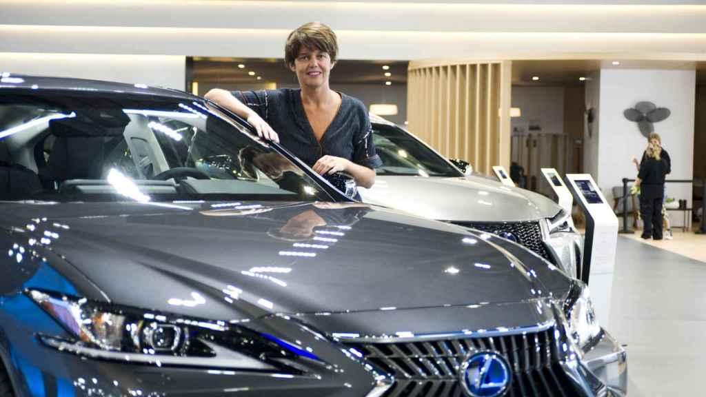 Mar Pieltain es la directora general de Lexus en España.