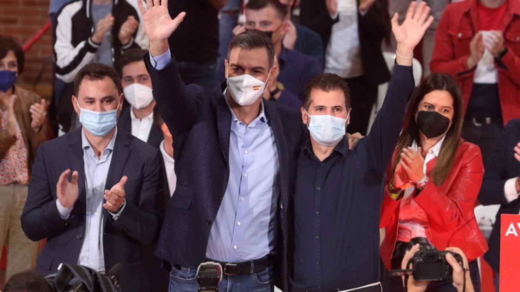 Tudanca elogia a Sánchez al frente del Ejecutivo y justifica unos presupuestos socialistas