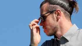 Gareth Bale, en el Open de España