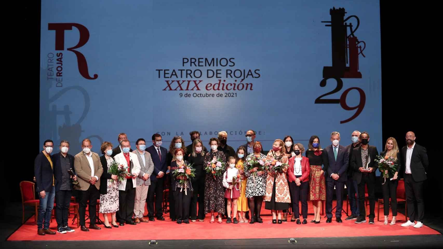El Teatro de Rojas de Toledo ha rendido homenaje al público toledano