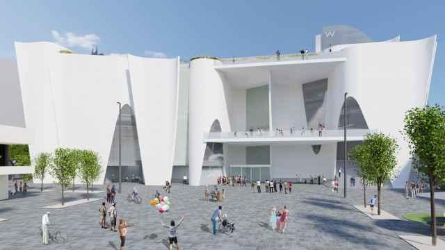Diseño del arquitecto Toyo Ito para el Hermitage de Barcelona.
