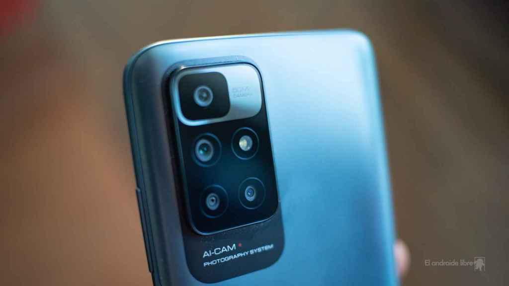 Redmi 10 módulo de cámara