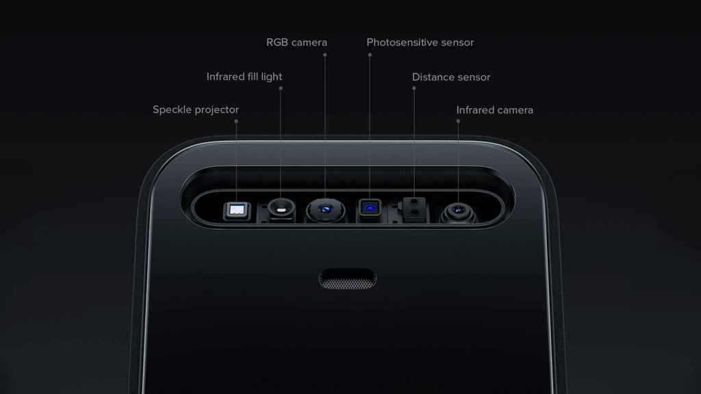Xiaomi Face Recognition Intelligent Door Lock X sensores integrados