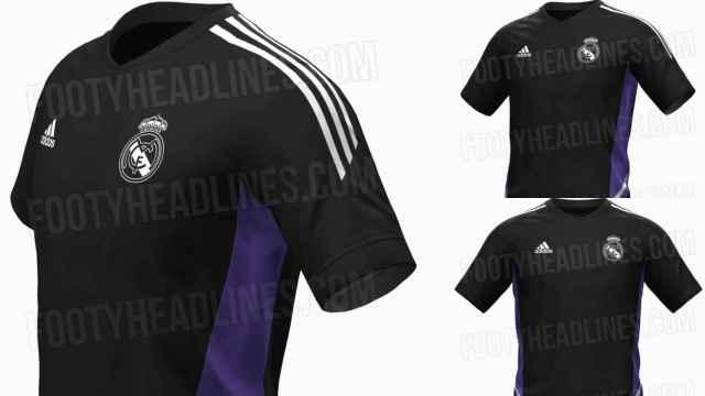 Los diseños filtrados de la camiseta de entrenamiento del Real Madrid para la 2022/2023