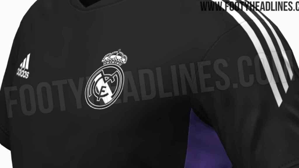Los detalles filtrados de la camiseta de entrenamiento del Real Madrid para la 2022/2023