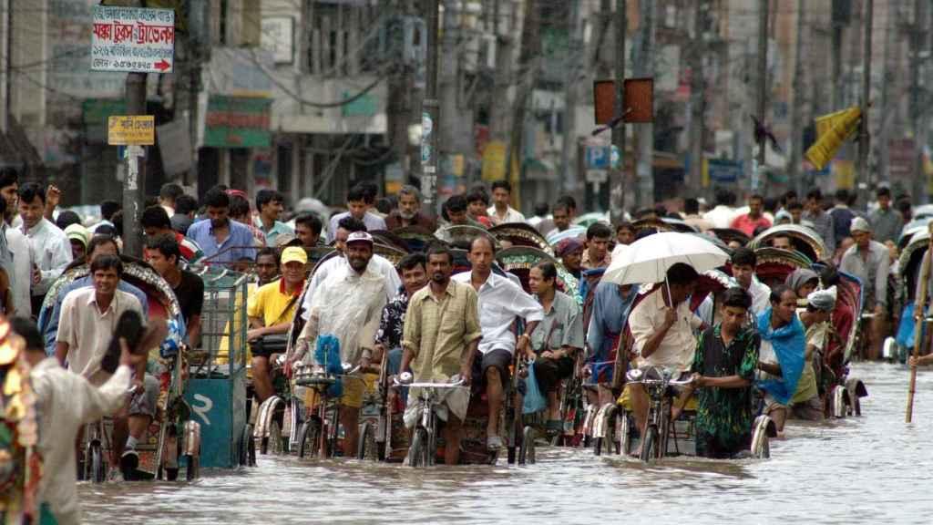 Organizaciones piden la acogida humanitaria de los desplazados por el calentamiento.