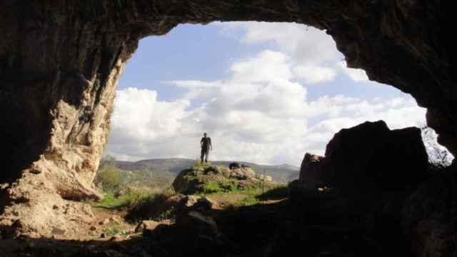 Imagen de archivo de una cueva.