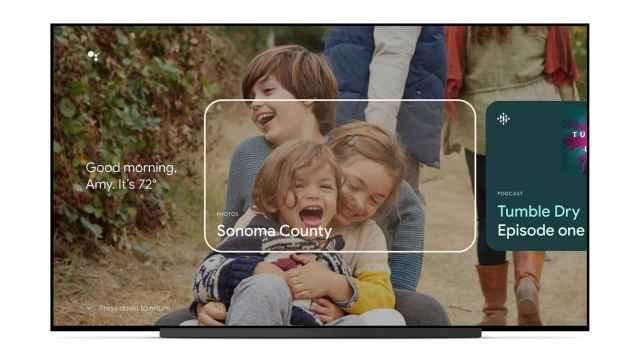 Google TV tendrá tarjetas en el modo ambiente