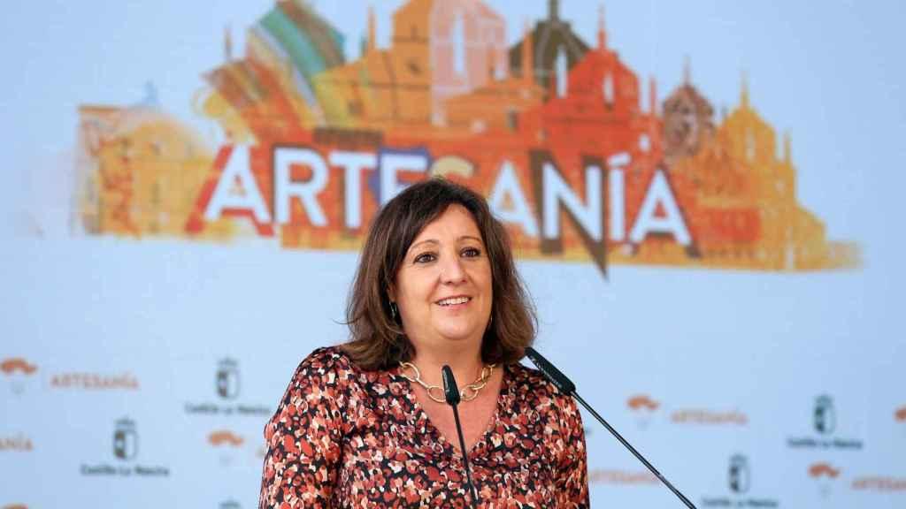 Patricia Franco, consejera de Economía de Castilla-La Mancha, este lunes en Farcama 2021