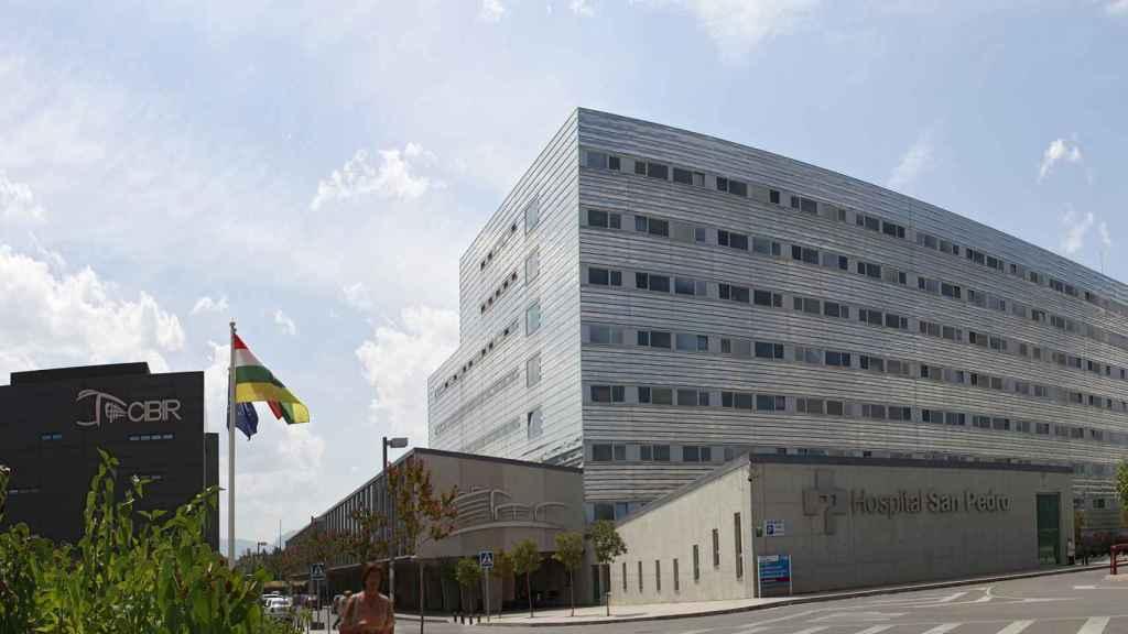 Hospital San Pedro de Logroño, centro donde se ha realizado este proyecto.