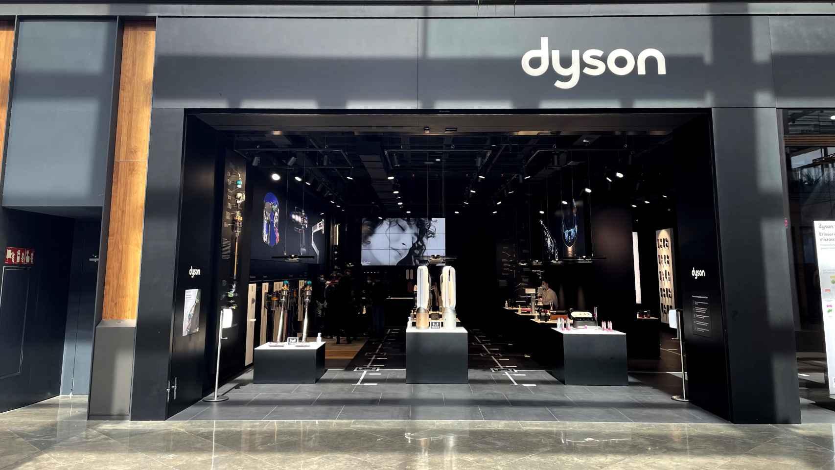 Visitamos la tienda Dyson en Barcelona