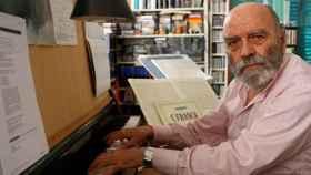 Luis de Pablo, compositor.
