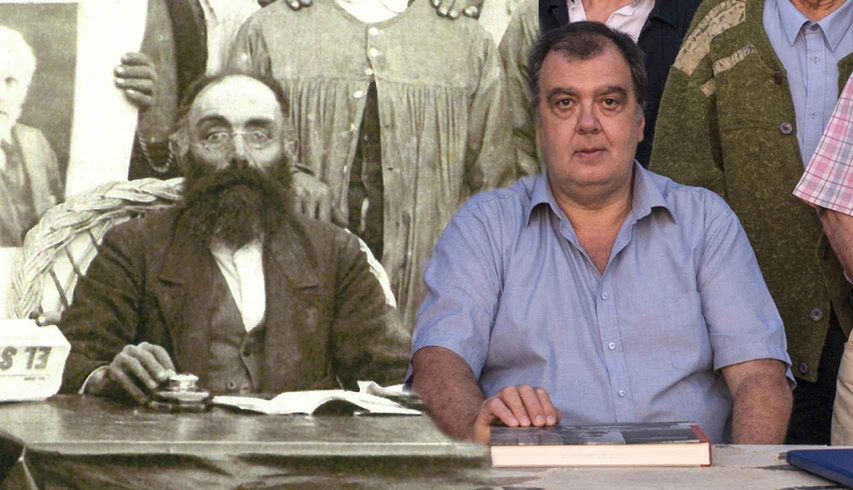 Escolástico Correas, 'el Rebelde', y José Luis Martínez.