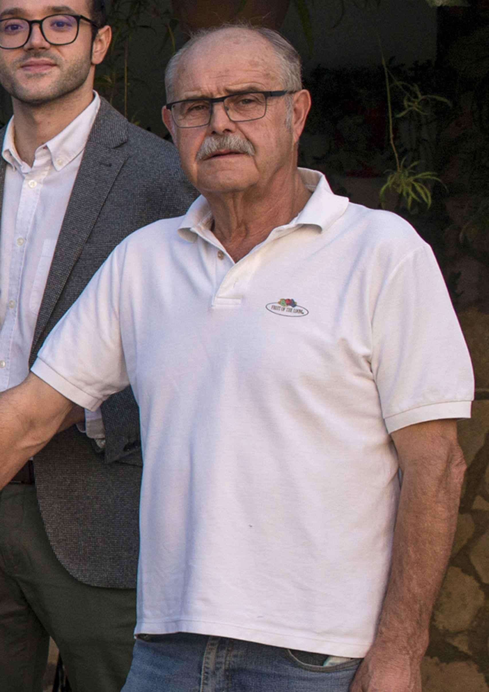 Fernando Moreno, exalcalde de Villalgordo.