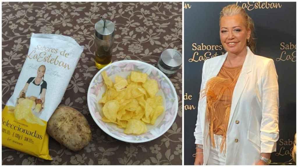 Análisis nutricional de las patatas fritas de Belén Esteban