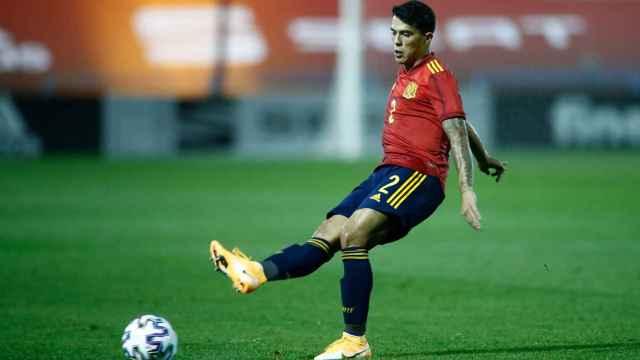 Pedro Porro, con la selección española Sub21