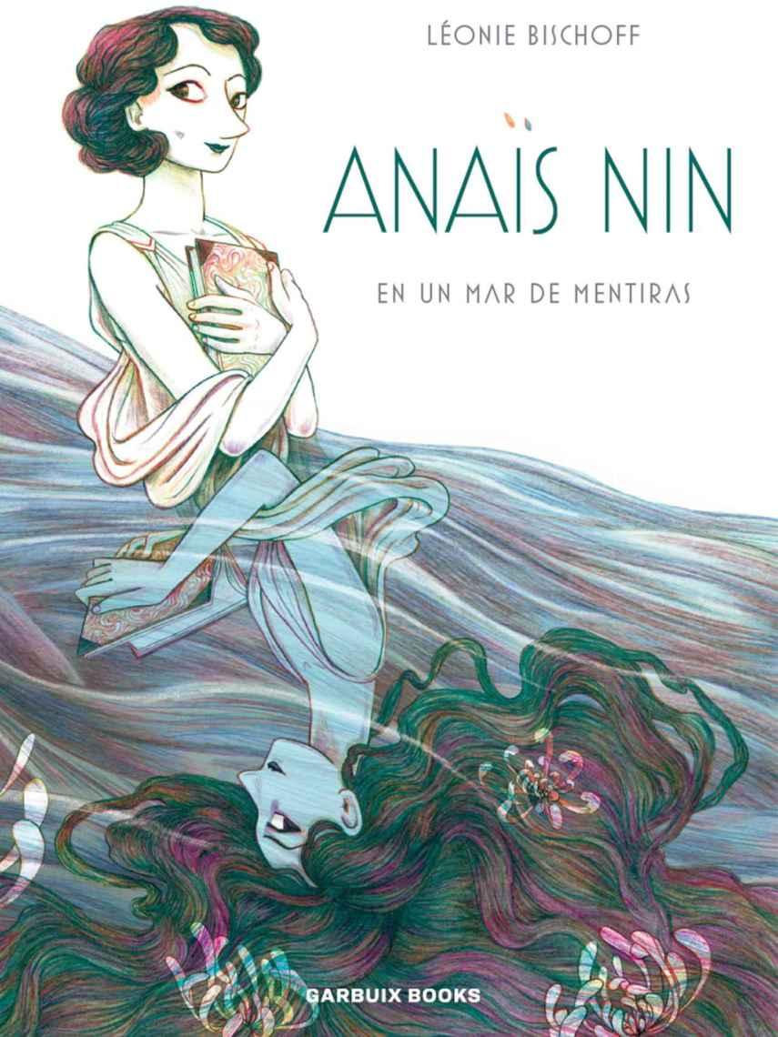 Portada de la novela gráfica de Anaïs Nin.