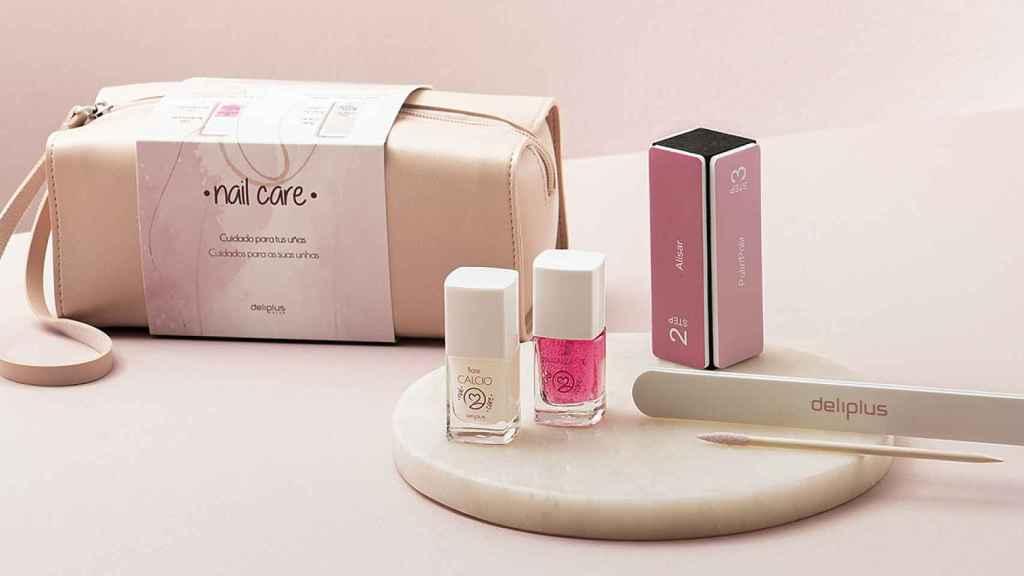 El nuevo estuche de Mercadona con los productos para el cuidado de las uñas | Foto: Perfumería Mercadona