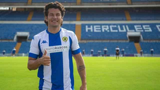 Nelson Valdez, durante su visita a Alicante en el pasado mes de septiembre.