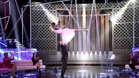 Lara Álvarez sorprende en 'Secret Story' clavando el famoso baile de 'Dirty Dancing'