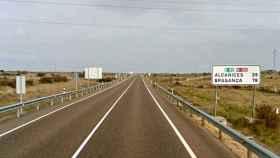Vista de la carretera nacional N-122