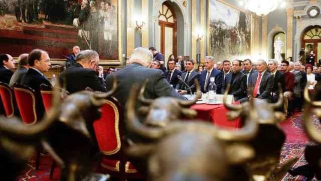 Imagen de una anterior entrega de los premios de la Asociación Taurina Parlamentaria