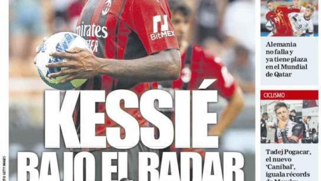 Portada Mundo Deportivo (12/10/21)