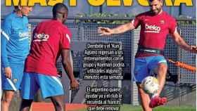 Portada Sport (12/10/21)