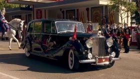 El coche de los Reyes Felipe y Letizia el día de la Fiesta Nacional es un Rolls-Royce Phantom Phantom IV.