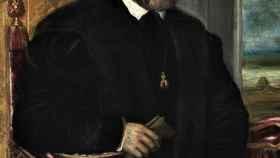 Retrato de Carlos V sentado, de Tiziano (1548)