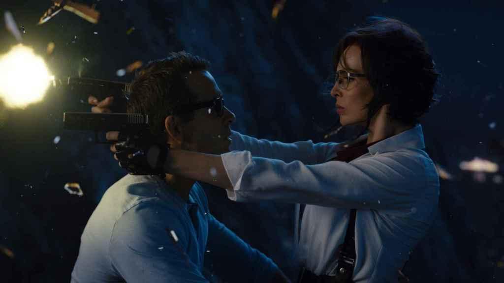 Ryan Reynolds y Jodie Comer, las estrellas de 'Free Guy'.