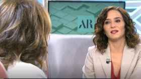 La presidenta de la Comunidad de Madrid, Isabel Díaz Ayuso, este miércoles en Telecinco.