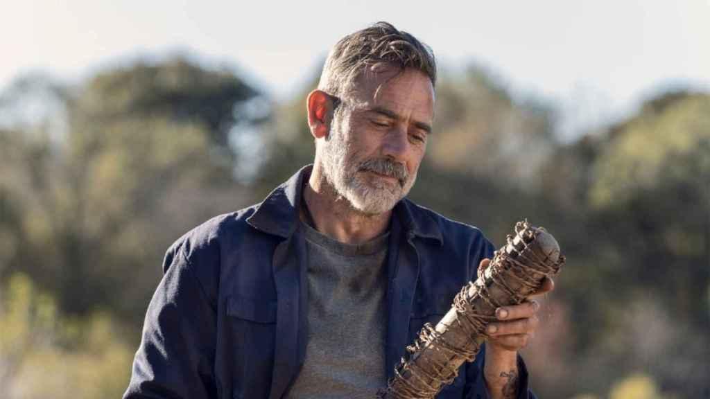 Negan, uno de los personajes de 'The Walking Dead'.