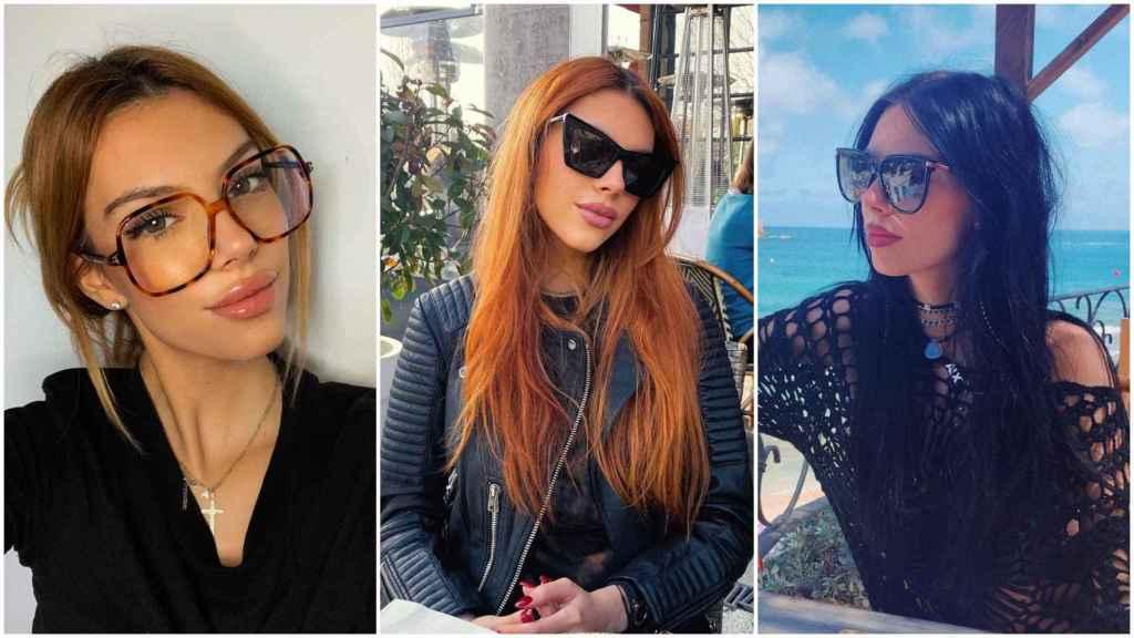 Alejandra Rubio es la mejor modelo para las gafas que vende su padre.
