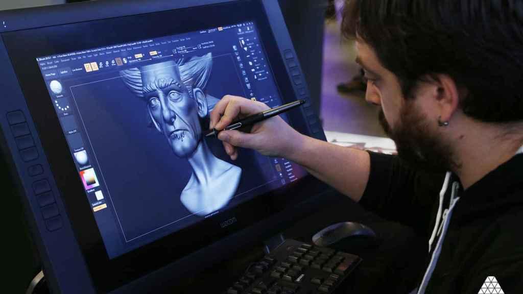 Producción de animación 3D en la escuela Animum.