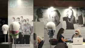 Mascarillas Béjar como patrocinador de la Semana de la Moda de Madrid en una imagen de archivo