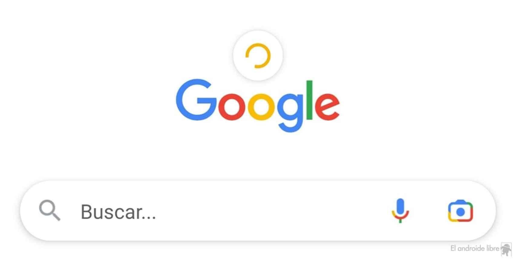 Google Discover cargando