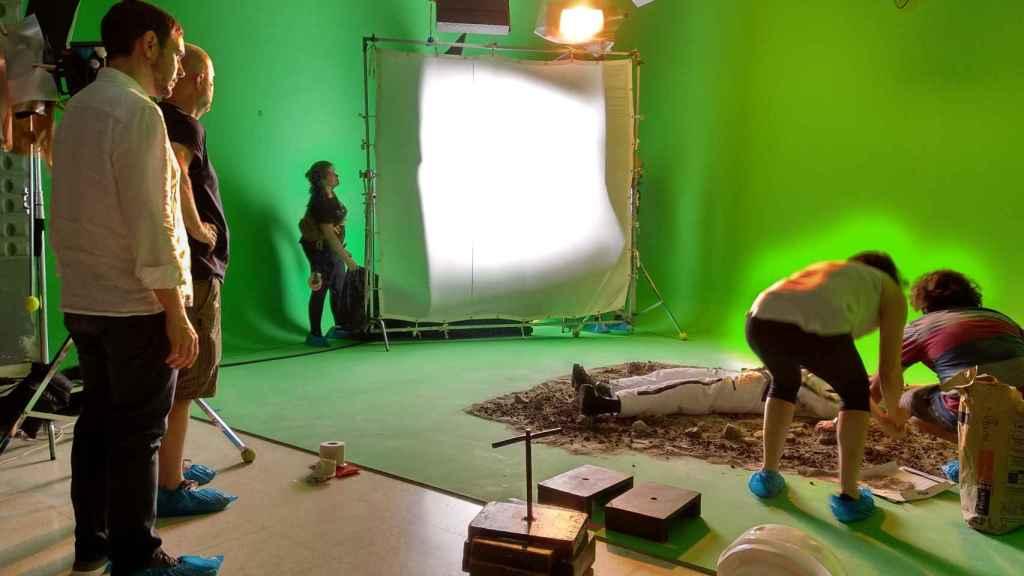 Rodajes de Animum para formación en efectos visuales (VFX).