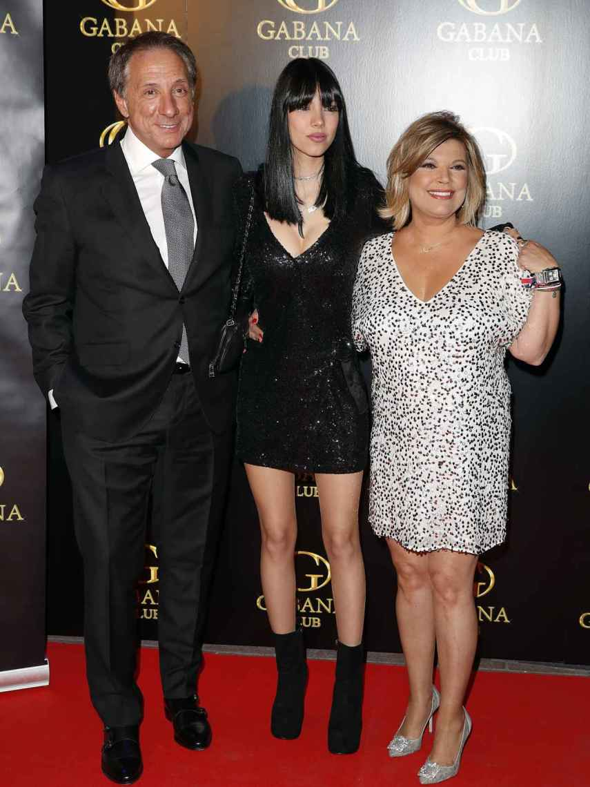 A pesar de su divorcio, Alejandro y Terelu tienen muy buena relación, al igual que su hija.