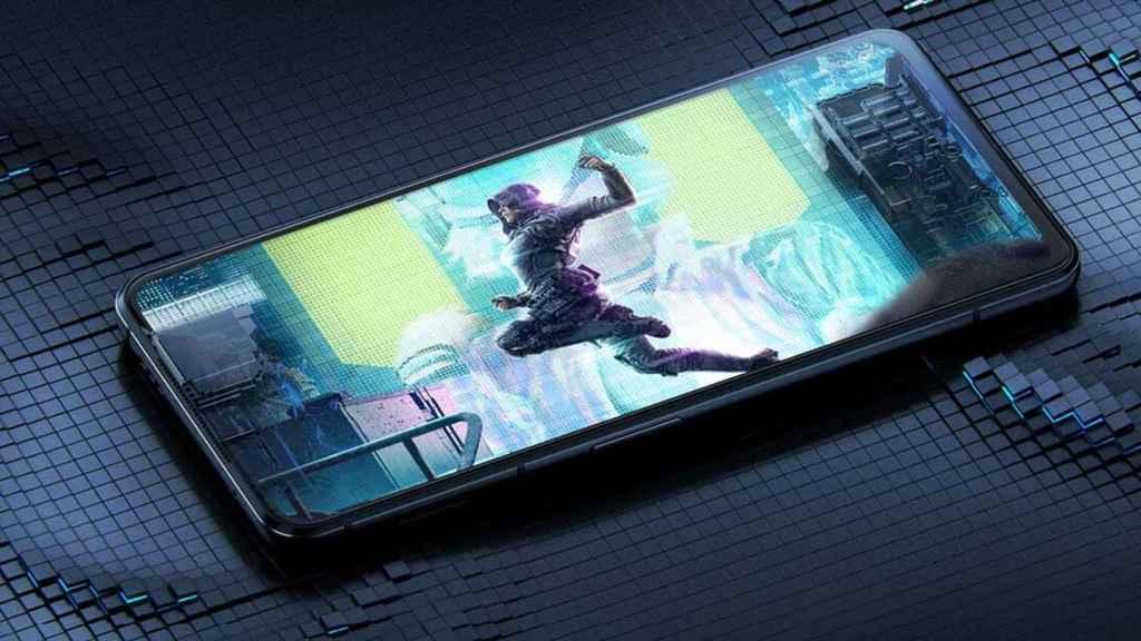 Black Shark 4S jugando