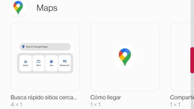 Asi es el nuevo widget de Google Maps