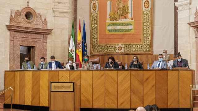 El Gobierno andaluz aprueba la rebaja fiscal de la Ley de Tributos Cedidos con el apoyo de Vox