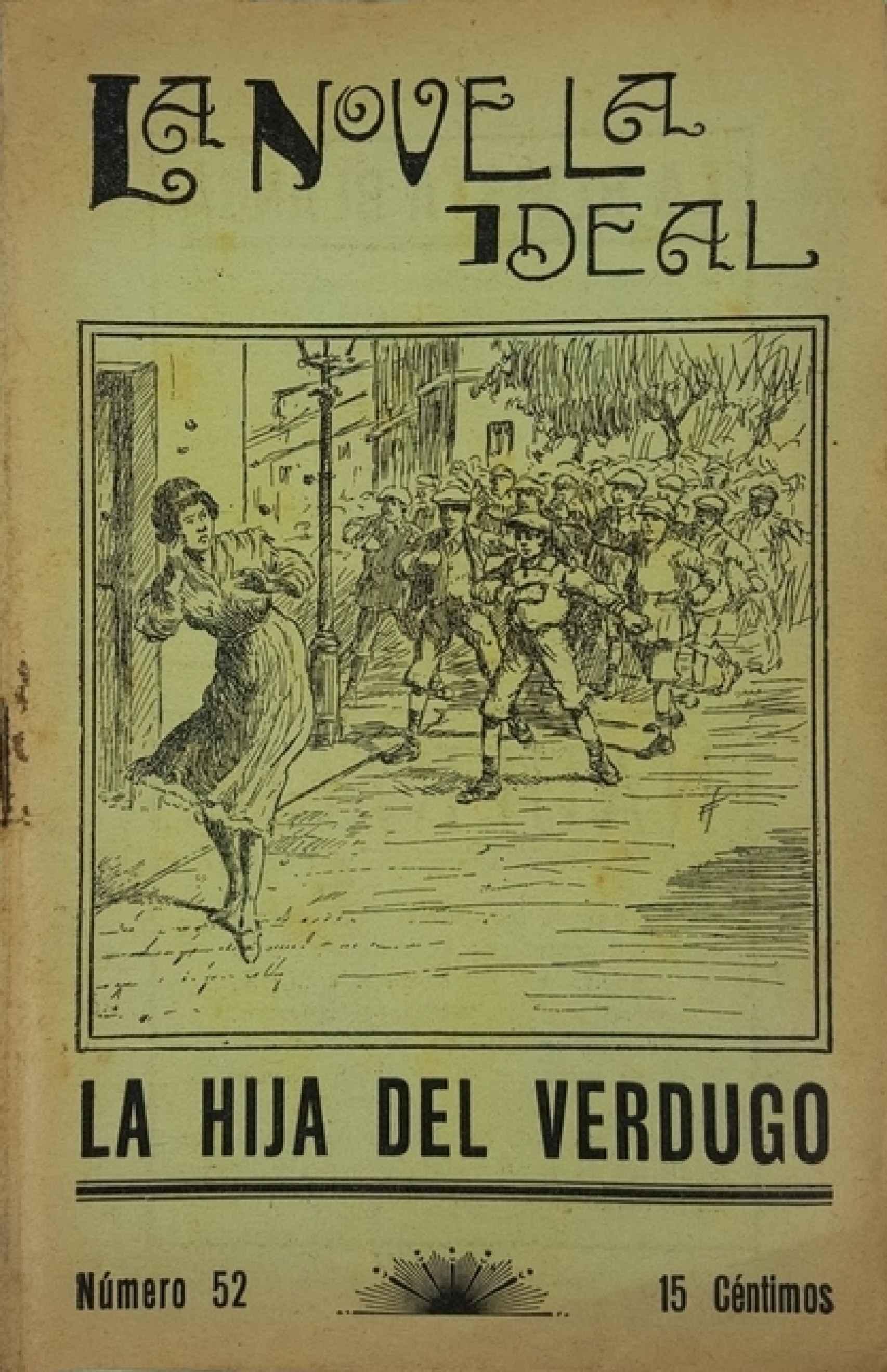 'La hija del verdugo', escrita por Federica Montseny y publicada en 'La Novela Ideal' en 1927.