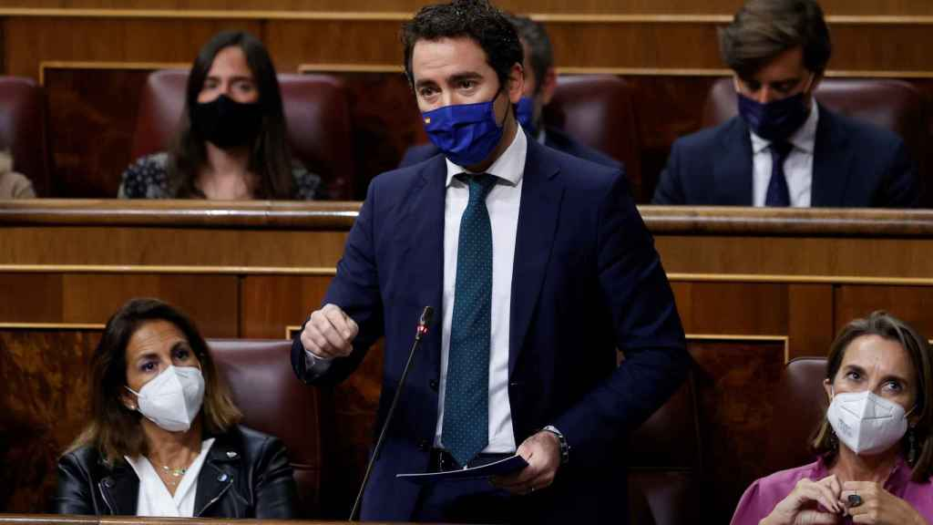 Teodoro García Egea, este miércoles en el Congreso.