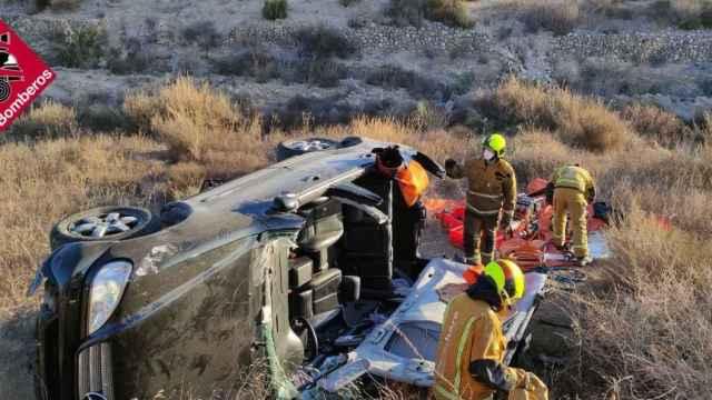 En Novelda también se ha registrado un accidente de tráfico con víctimas este miércoles.