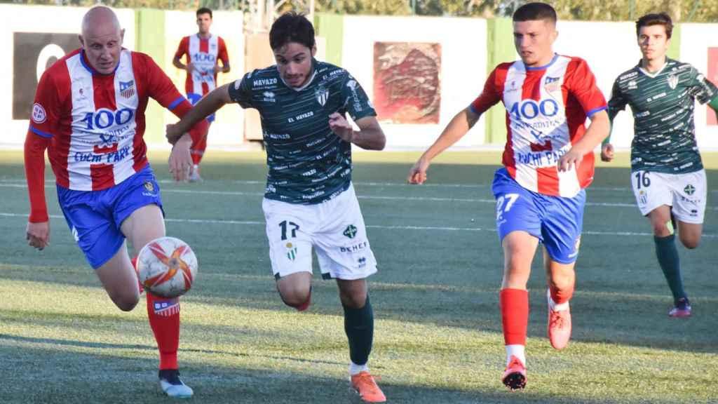 El CD Guijuelo pudo con el CDA Navalcarnero en la Copa RFEF
